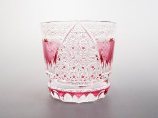 赤オールドグラス「Fuji3」