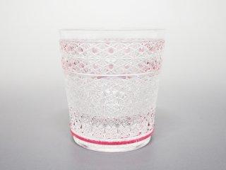 赤菊かごめ菊つなぎ天開オールドグラス