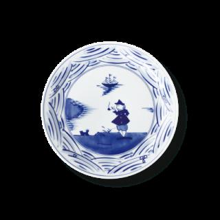 """長崎紋 """"玉渕6寸ケーキ皿"""""""