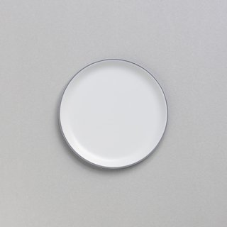 "ARITA JIKI ""plate M kakiguro gray"""