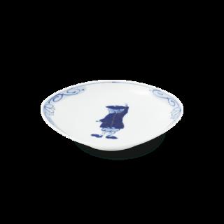 """カール紅毛人 """"舟型銘々皿"""""""