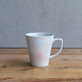 花美人 (白) マグカップ