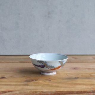 色絵野菜紋 飯碗(小)
