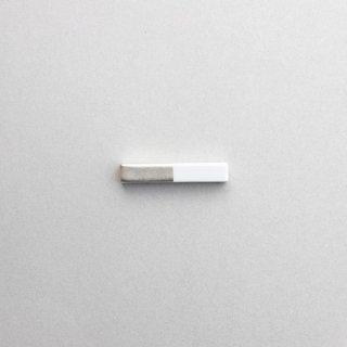 白磁銀彩 カトラリーレスト