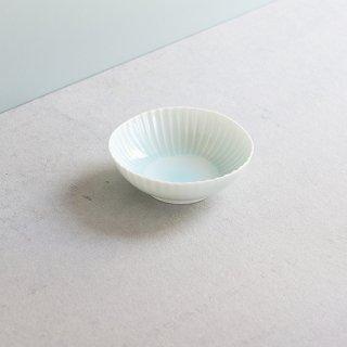 青白磁しのぎ 深鉢