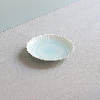 青白磁しのぎ 銘々皿