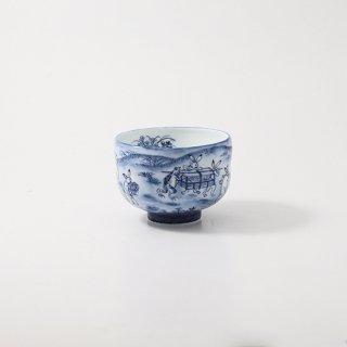 鳥獣戯画図 抹茶碗【俊彦作】