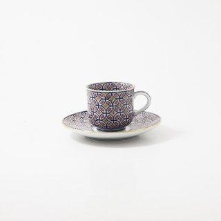 紫彩七宝繋紋 碗皿【邦彦作】