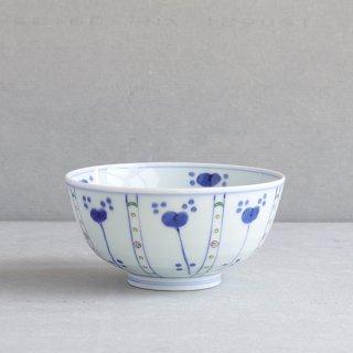 染錦草花紋 5.5寸段入丼