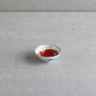 赤絵めで鯛 平盃