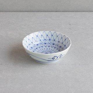 染付網目麻の葉 5寸鉢(なます皿)