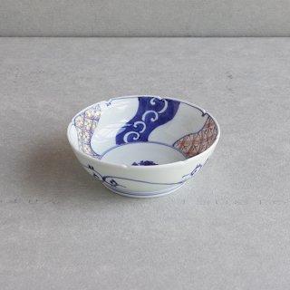 染錦捻祥瑞 5寸鉢(なます皿)