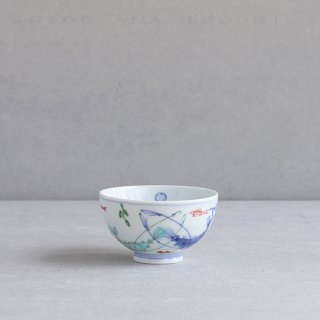 染錦双海老 段入茶付(小)