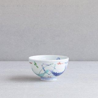 染錦双海老 段入茶付(中)