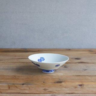 藍桜 平飯碗(大)