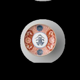 """錦寿富士紋 """"丸皿"""""""