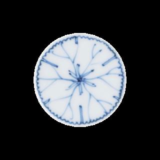 染付植栽図 (素描) エレメントプレート
