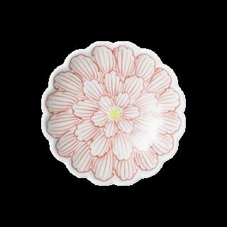 錦牡丹菊型 3寸小皿