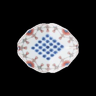 色鍋島瓔珞文 皿