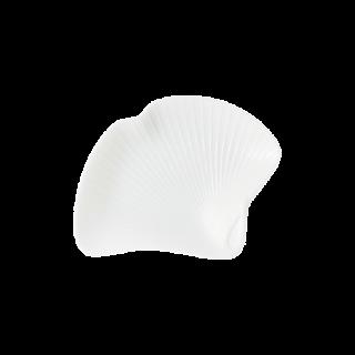 銀杏型手塩皿 白磁