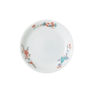 豆皿(縁反) 花実文