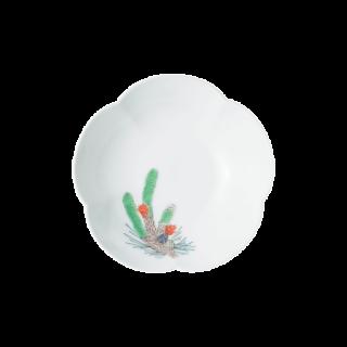 小皿(五方割) 松文