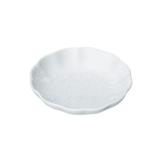 レース 豆皿