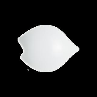 白マット 桜豆皿