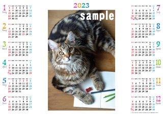 2022年オリジナルA3カレンダー(1枚〜3枚)