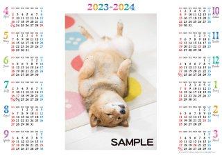 2022年4月始まり オリジナルA3カレンダー(4~19枚)
