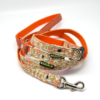 カラー&リードセット 15mm幅 プチガーデン(オレンジ)