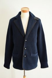 <img class='new_mark_img1' src='//img.shop-pro.jp/img/new/icons47.gif' style='border:none;display:inline;margin:0px;padding:0px;width:auto;' />sacai<br>Chunky Knit Jacket<br>【NAVY】