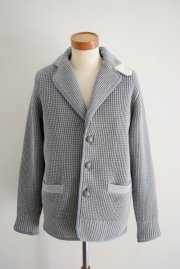 sacai<br>Chunky Knit Jacket<br>【L/GREY】