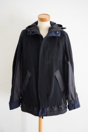 <img class='new_mark_img1' src='//img.shop-pro.jp/img/new/icons47.gif' style='border:none;display:inline;margin:0px;padding:0px;width:auto;' />sacai<br>Chunky Knit Blouson<br>【BLACK】