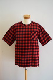 sacai<br>BUFFALO CHECK  PULLOVER<br>「RED」<br>【30%OFF】