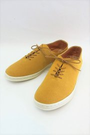 MANEBU<br> SQUAWK SUEDE MENS 【YELLOW】