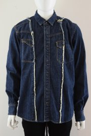 <img class='new_mark_img1' src='//img.shop-pro.jp/img/new/icons47.gif' style='border:none;display:inline;margin:0px;padding:0px;width:auto;' />sacai man<br>DENIM SHIRTS<br>【2カラー】