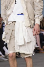 <img class='new_mark_img1' src='//img.shop-pro.jp/img/new/icons47.gif' style='border:none;display:inline;margin:0px;padding:0px;width:auto;' />sacai man<br>MA-1 Short Pants<br>【L/GREY】