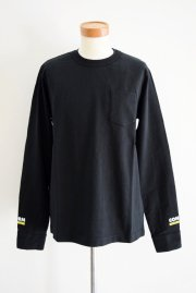 <img class='new_mark_img1' src='//img.shop-pro.jp/img/new/icons2.gif' style='border:none;display:inline;margin:0px;padding:0px;width:auto;' />sacai man<br>Cotton Long TEE<br>【BLACK】