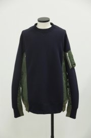 <img class='new_mark_img1' src='//img.shop-pro.jp/img/new/icons47.gif' style='border:none;display:inline;margin:0px;padding:0px;width:auto;' />sacai<br>Sponge Sweat Pullover<br>【2カラー】