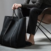 【予約】<br>STATE OF ESCAPE<br>Cityscape mark II tote bag<br>【BLACK】