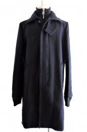 <img class='new_mark_img1' src='https://img.shop-pro.jp/img/new/icons47.gif' style='border:none;display:inline;margin:0px;padding:0px;width:auto;' />sacai<br>Melton Coat<br>【NAVY】