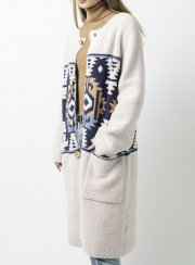 <img class='new_mark_img1' src='https://img.shop-pro.jp/img/new/icons2.gif' style='border:none;display:inline;margin:0px;padding:0px;width:auto;' />BAREFOOT DREAMS<br>WOMENS SW MOTIF COAT
