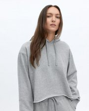 <img class='new_mark_img1' src='https://img.shop-pro.jp/img/new/icons2.gif' style='border:none;display:inline;margin:0px;padding:0px;width:auto;' />REIGNING CHAMP<br>Mock-Neck<br>CUT-OFF HOODIE<br>レディース