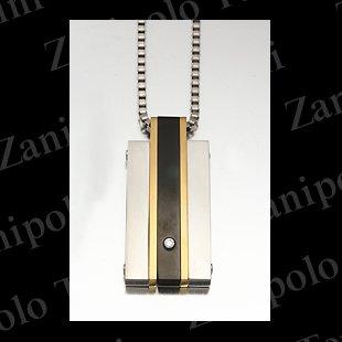 a1484-GD Zanipolo Terzini ザニポロ タルツィーニ ペンダント(ゴールド)チェーン付