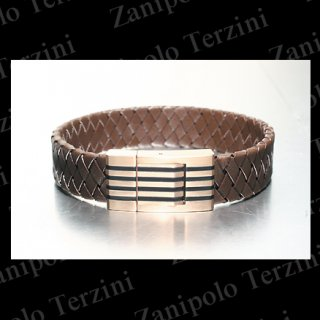 a1473 Zanipolo Terzini ザニポロ タルツィーニ 本牛革ブレスレット