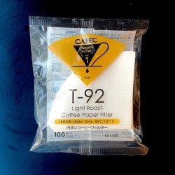 【円すい型】1〜2杯用 T-92 浅煎り用 CAFEC