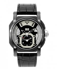 アウトレット 半額 ヴィスコンティ 2スクエアード GMT デュアルタイム グランド デイト スポーツ W102-04-106-000 腕時計 メン