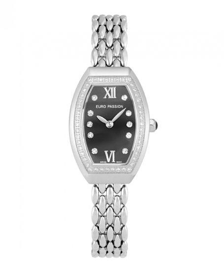 ユーロパッションウォッチ トノー・ワンローダイヤ 924BR-M 腕時計 レディース EURO PASSION WATCH Tonneau