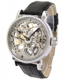 アルカフトゥーラ メカニカルスケルトン 298SKBK 腕時計 メンズ 手巻き ARCAFUTURA